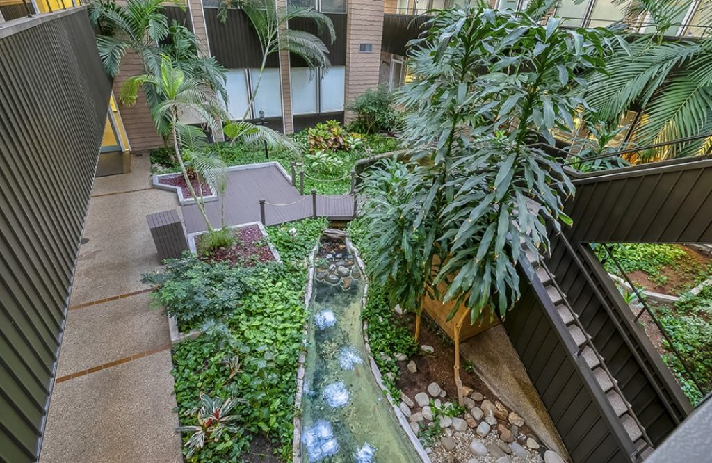 Atrium view from second floor - 3925 N. I-10 Service Rd. W., Metairie, Louisiana 70002 - location of Kramer Psychiatric Services - Greater New Orleans Psychiatrist