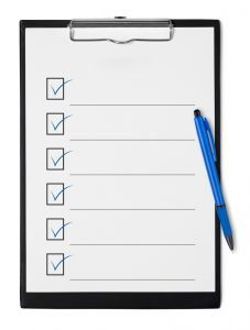 Policies/Forms with paper pen clipboard image - Metairie Psychiatrist - Kramer Psychiatric Services - Greater New Olreans, Jefferson Parish, Louisiana