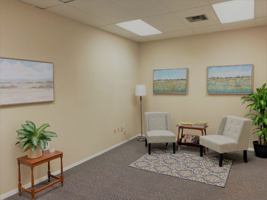 Office waiting room - 3925 N. I-10 Service Rd. W., Metairie, Louisiana 70002 - Kramer Psychiatric Services - Greater New Orleans Psychiatrist